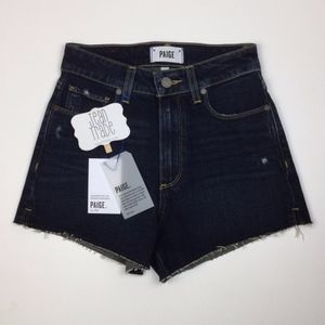 NWT PAIGE Jeans Margot Cut Off High Rise Shorts